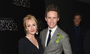 Eddie Redmayne defends JK Rowling after backlash for transgender tweets