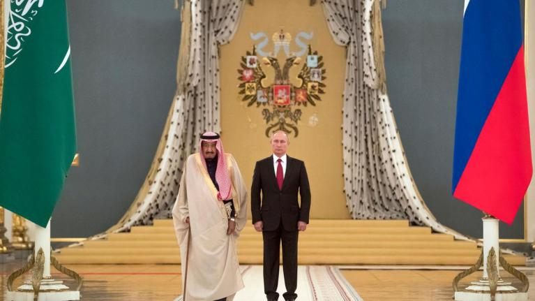 King Salaman and Putin discuss vaccine