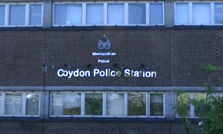 Police officer shot dead at Croydon police station