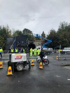 Batman filming goes ahead in Liverpool lockdown