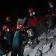 Turkey Earthquake - Much of the damage in Turkey occurred in and around the Aegean resort city of Izmir, which has three million residents and is filled with high-rise apartment blocks. It was unclear how many people were trapped in the rubble.