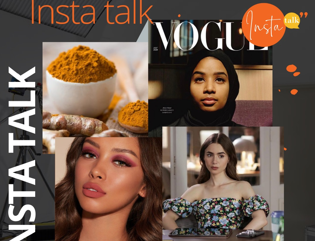 Insta Talk episode 10 - Luxury handbags - Benefits of Turmeric & Emily in Paris