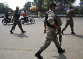 Car bomb kills 4 police officers in northern Afghanistan, at least 20 injured