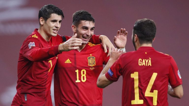 Man City's Torres hits hat-trick as Spain humiliate Germany