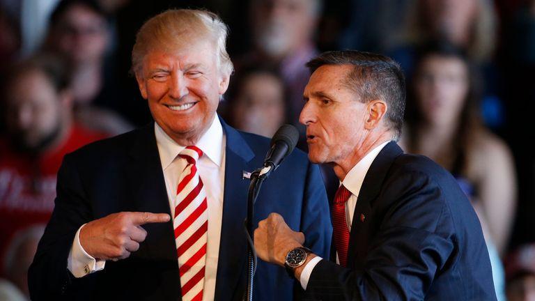 Trump pardons ex-aide Flynn who pleaded guilty of lying in Russia probe