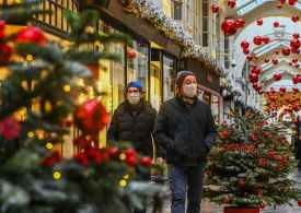 Daily News Briefing: Covid-19 Xmas rules - UNICEF to feed UK kids & Paris fined for women in senior roles