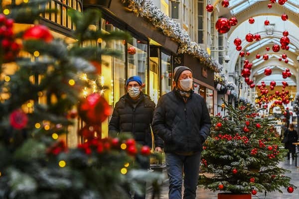 Relaxation of UK Christmas rules 'unlikely to change'