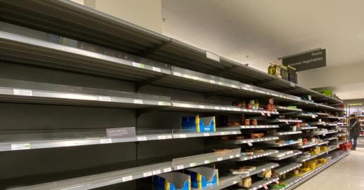 No-deal Brexit food shortages and price hike