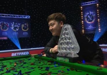 20 Year Old Yan beats Higgins in Masters Final