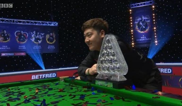 20 Year Old Yan beats Higgins in Masters Final