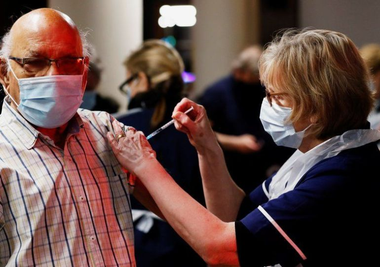 London Lockdown - gets 24-hour Coronavirus vaccination sites