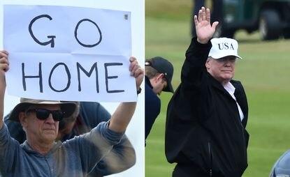 Scotland won't allow golf trip for Trump on Biden's inauguration