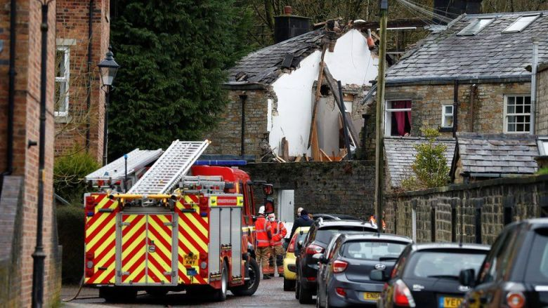 House explosions kills a 79-year-old woman and leaves two injured