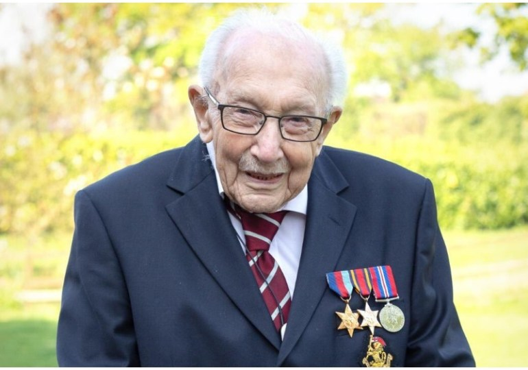 Breaking News: Captain Sir Tom Moore dies aged 100