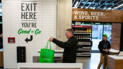 Amazon opens till-free grocery store in London