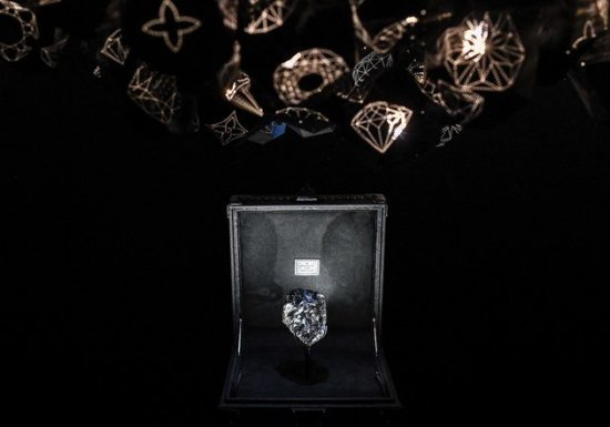 Louis Vuitton brings rare diamonds to Dubai