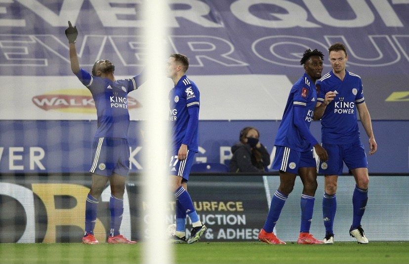 Iheanacho, Leicester defeat poor Manchester United 3-1 – FA Cup Quarter-Final result