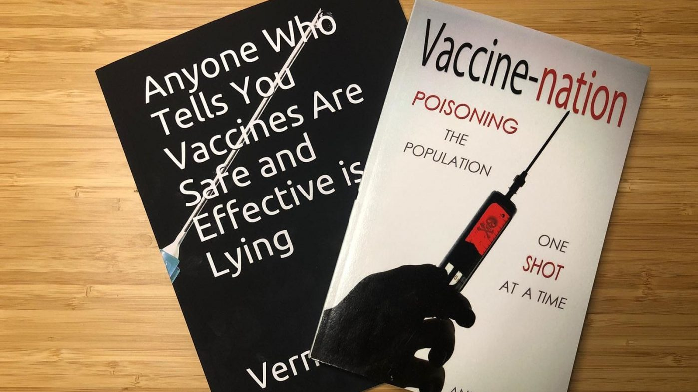 COVID-19: Waterstones and Amazon urged to add warning tags as anti-vaccination book sales surge