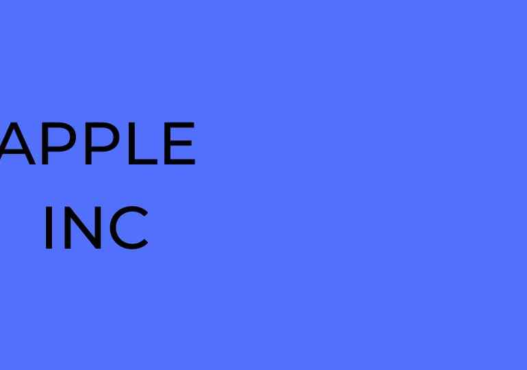 Apple Today $124.69 – 0.31%
