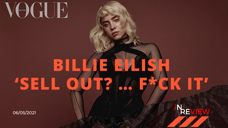 Billie Eilish Vogue Cover British Vogue BillieEilish BillieEilishvogue BillieEilishHot billieeilishnews vogue VogueChallenge bodypositive bodypositivitymovement bodyshaming
