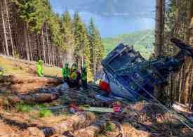Nine dead in Italian cable car accident Lake Maggiore #Verbano