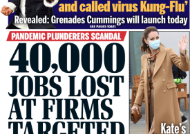 Daily Mail - 40K jobs lost at firms targeted by sharks