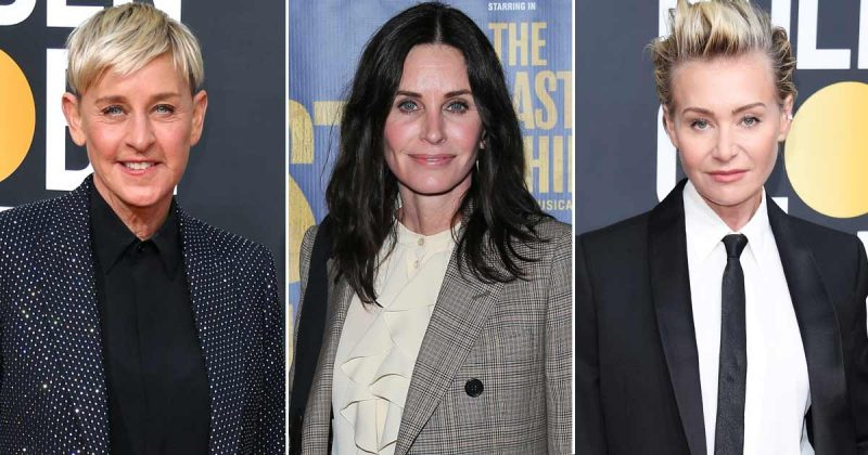 Why did Ellen DeGeneres move in with Courteney Cox, 'I'm not having marital troubles'