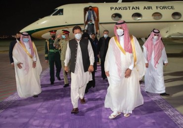Saudi Prince MBS welcomes Imran Khan again - Friends reunited?
