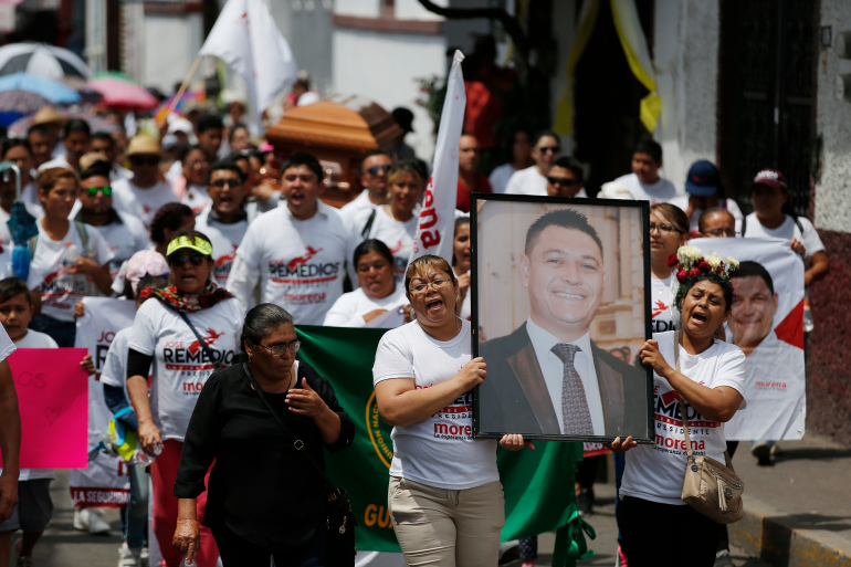 Mexico: Politicians slaughtered by gangs ahead of 6 June election
