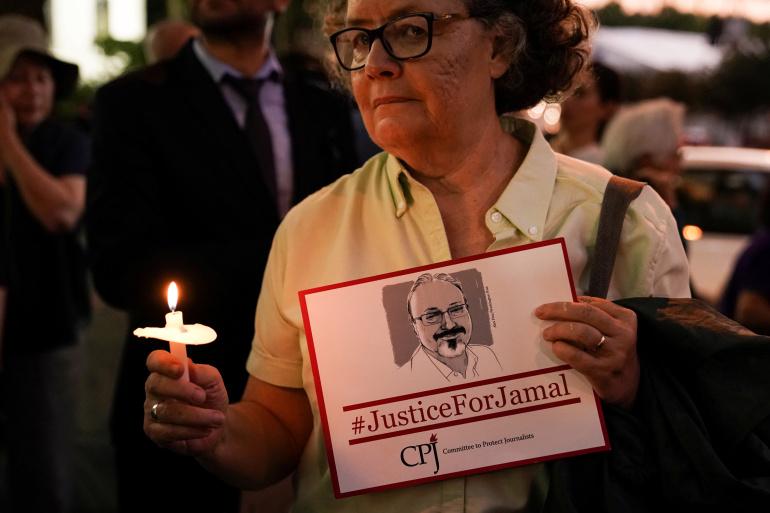 Jamal Khashoggi's assassins had US paramilitary training