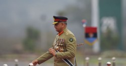 Pakistan Gen. Bajwa head of the ISI who allegedly took aim at Sheikh Abdallah Azzam