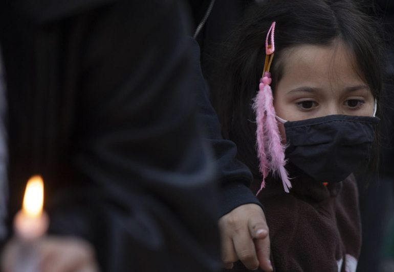 Mass grave of 215 Indigenous children found in Canada - PM 'appalled'