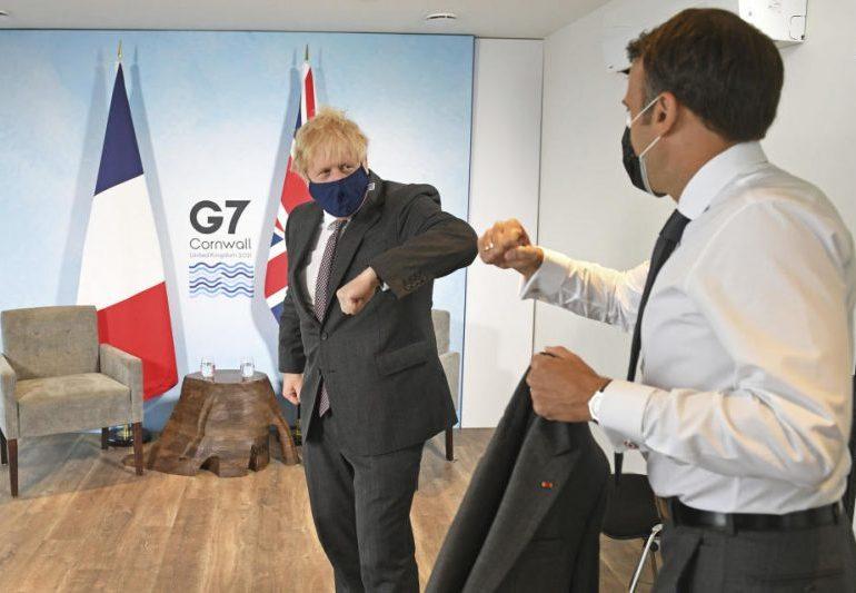Northern Ireland row mars final day of G7 summit