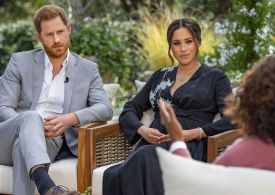 Oprah addresses if she's Prince Harry and Meghan Markle's daughter Lilibet's godmother