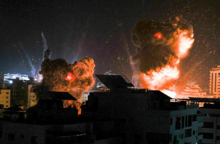 Israel launches airstrikes on Gaza for second time since ceasefire