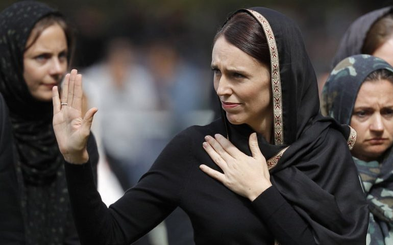 New Zealand's Ardern criticises Christchurch attack film amid uproar