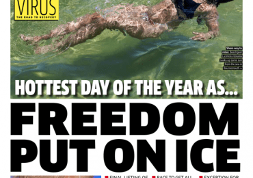 The Metro - Hottest day of the year at 29C as freedom put on ice