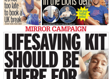 Daily Mirror - Life saving kit should be there for everyone