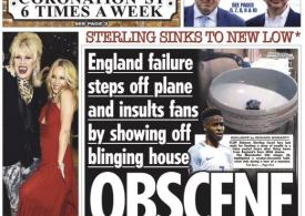 England flop Sterling enrages fans by showing off blinging house