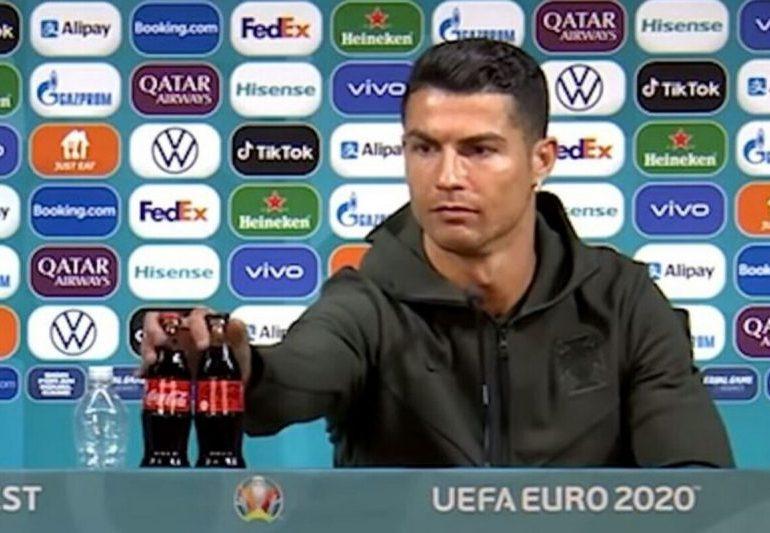 Cristiano Ronaldo outburst sees Coca-Cola lose $4BILLION in value as company responds to Portugal star