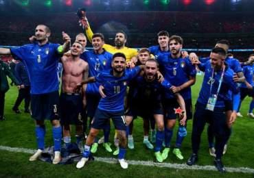 Forza Azzurri as Italy win Euro 2020 - Thug violence at Wembley