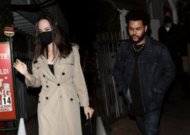 Angelina Jolie & The Weeknd caught on date night in LA