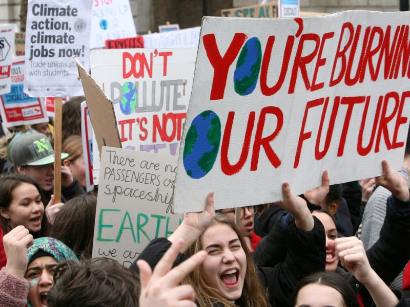 75% of British youth blame capitalism for climate change and racism