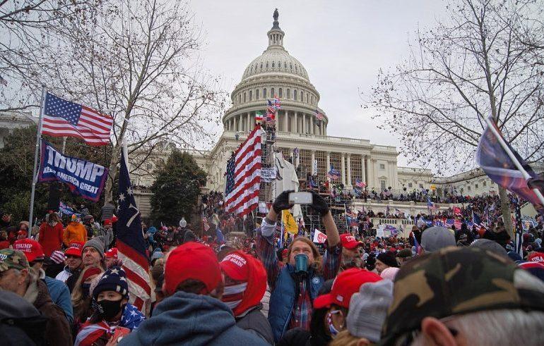 US Capitol Riot Participant Gets 8-Month Sentence