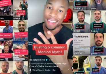 'Covid's ruining hot girl summer': NHS staff turn to TikTok to dispel vaccine myths and reach young people