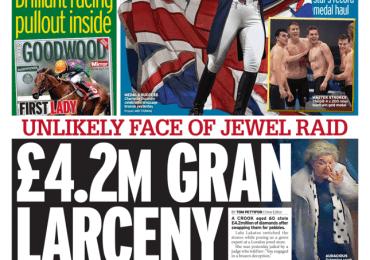 The Mirror - '£4.2m Gran Lacenary'