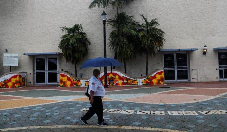 Tropical Storm Elsa gains strength as it lashes Florida Keys