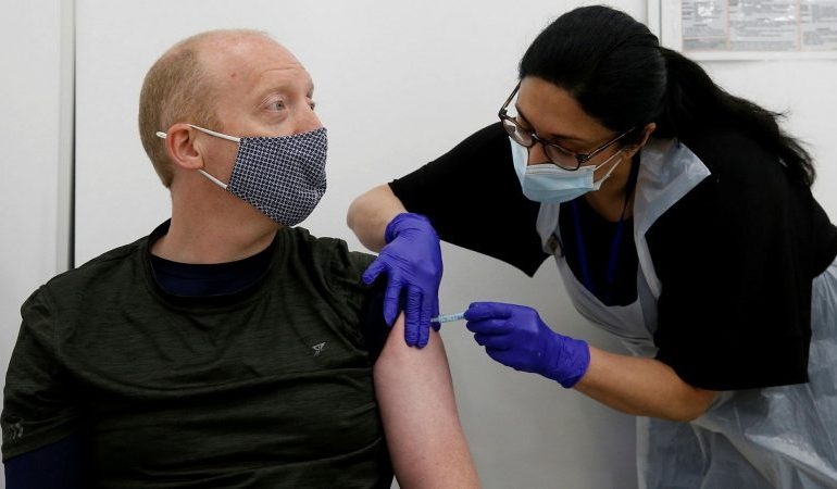 Half the UK population is now fully vaccinated against Covid-19