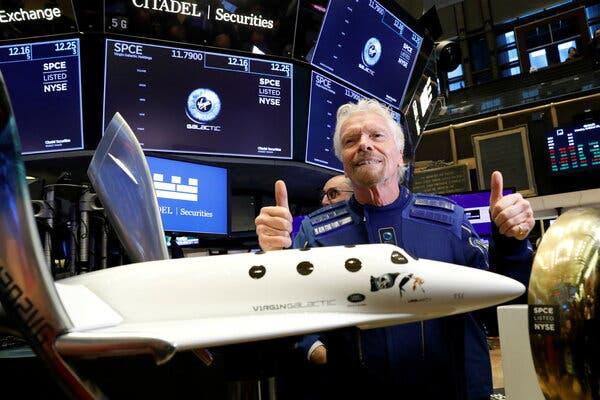 Richard Branson blow! Most don't want to go near Virgin man's space flight