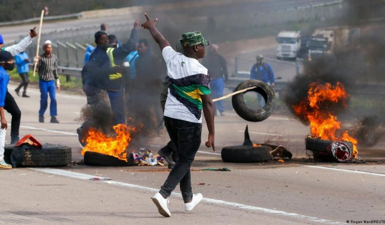 South Africa seeks to deploy 25,000 troops to curb unrest